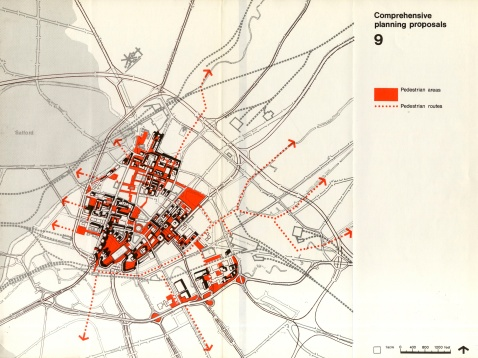 City centre map 1967